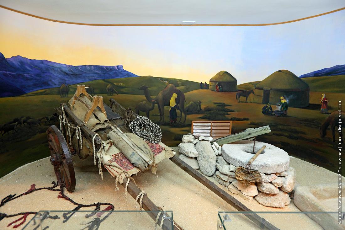 Форт-Шевченко этнографический музей Казахстан