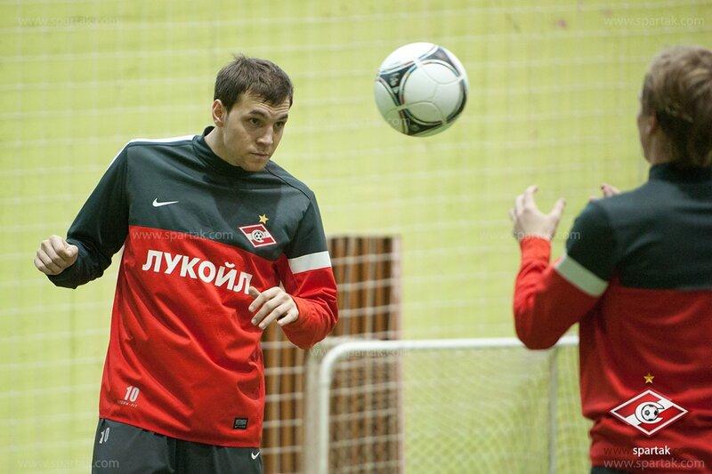 Тренировка спартаковцев в Сокольниках (Фото)