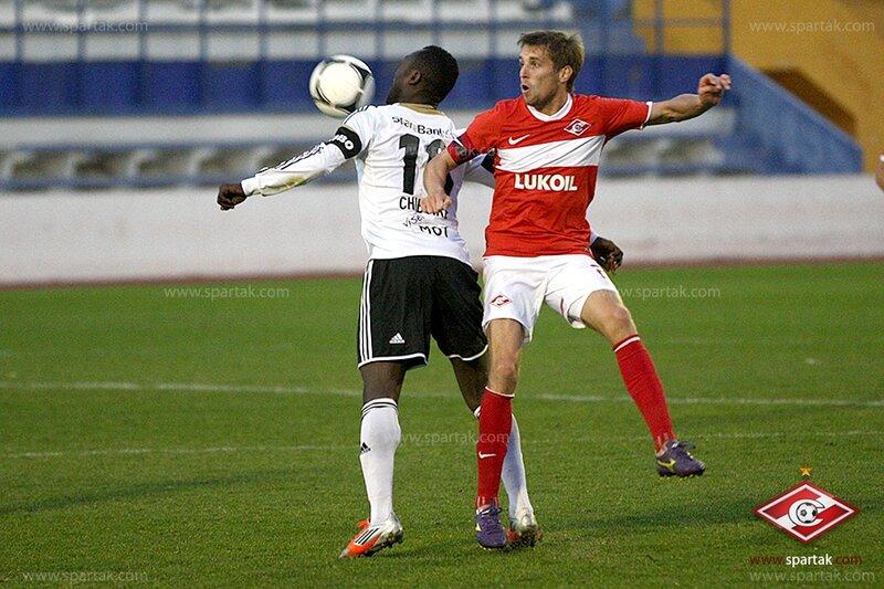 «Спартак» vs «Русенборг» 2:0 контрольный матч 2013 (Фото)