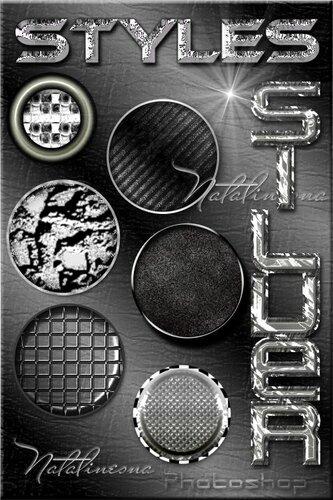 Серебряные стили для Photoshop 0_c9e20_d643b0ac_L