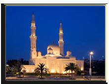 ОАЭ. Дубаи. Мечеть Джумейра. Jumeirah Mosque