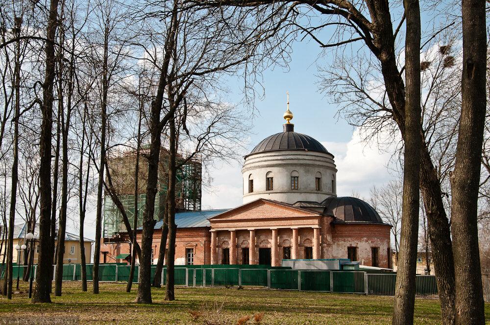 Успенский собор города Козельска