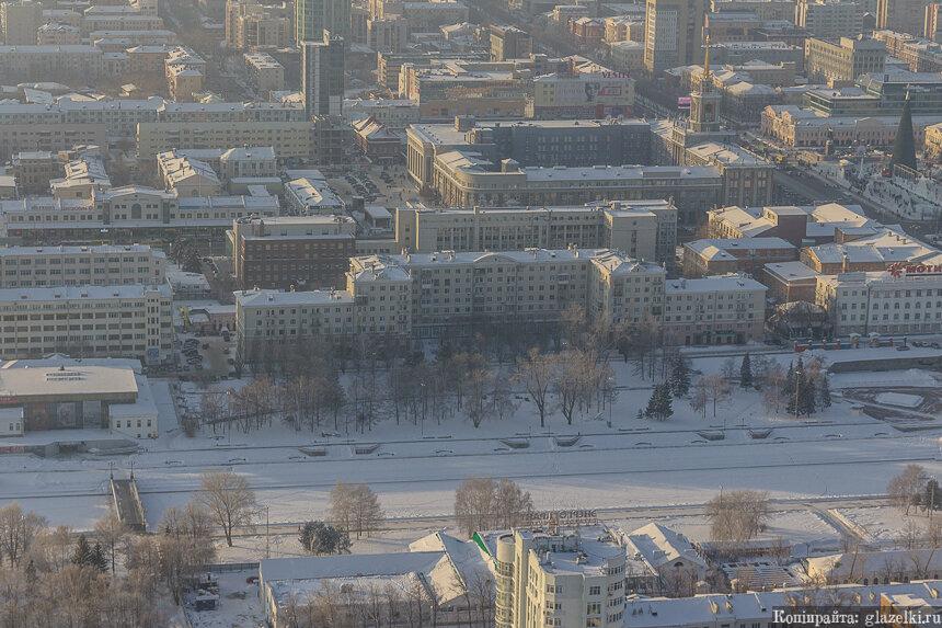 Исторический сквер. Екатеринбург.