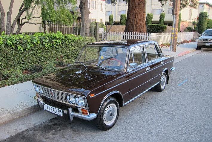 В Сан-Франциско за $11,5 тыс. продается ВАЗ-2103 (1975 г. в.)