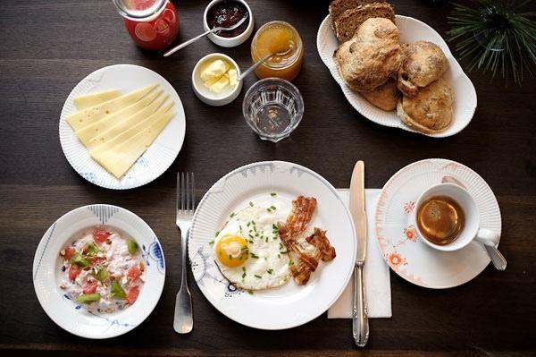 завтрак в разных странах мира.