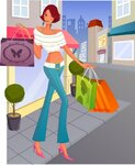 девушка   с  покупками 10.jpeg
