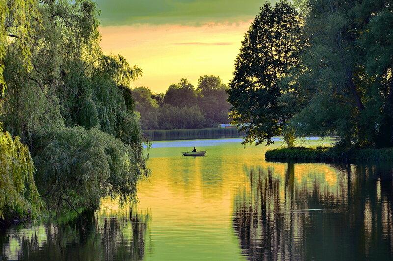 Мир с отражением. Пейзажи!