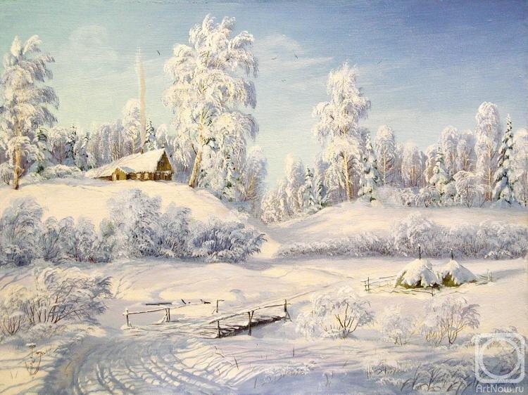 Янов Виктор.Русская зима