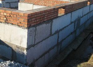 Сборный ленточный фундамент под частный дом
