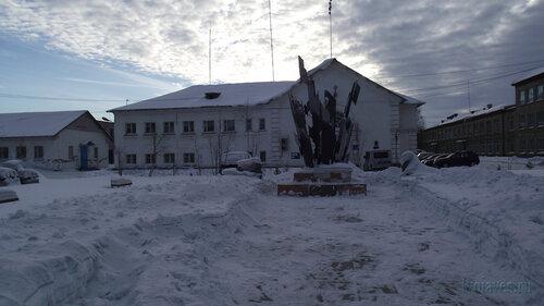 Фото города Инта №3199  Северная сторона Кулешова 10 (Полиция) 03.02.2013_12:11