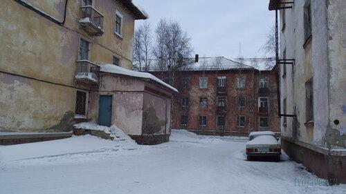 Фото города Инта №3260  Полярная 13, 12 и 11 03.02.2013_12:26