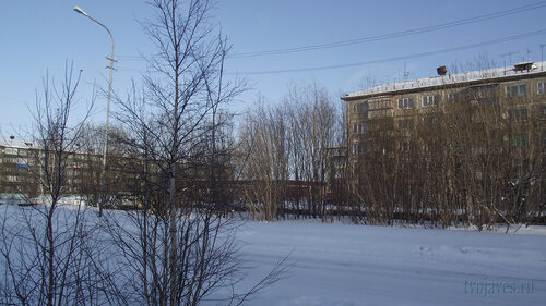 Фото города Инта №3676  Северная 1, Мира 30а и 32 19.02.2013_12:23