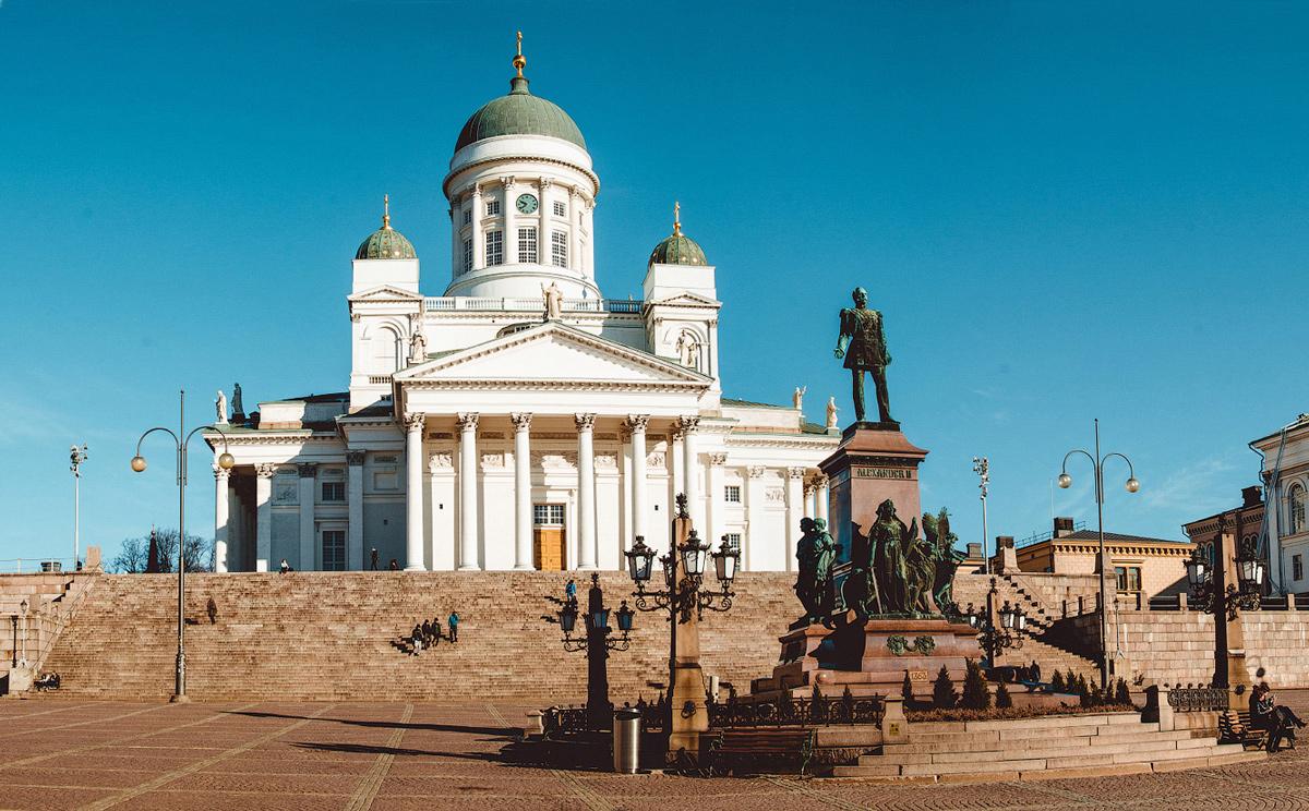 Финляндия, Хельсинки за один день, Кафедральный собор, Сенатская площадь