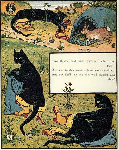 Кот в сапогах на английском ответы