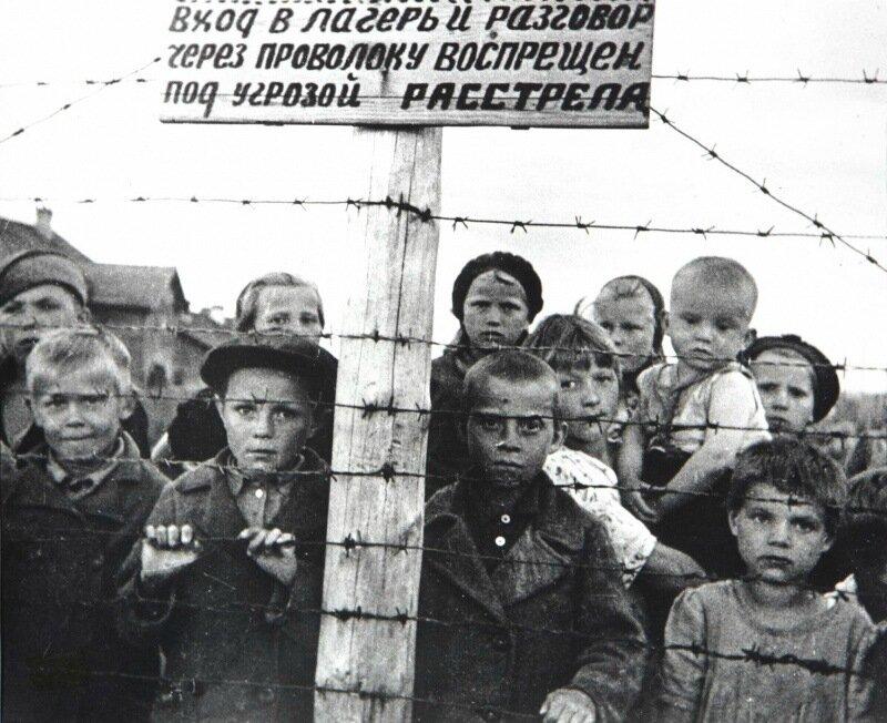 оккупация петрозаводска. дети в концлагерях