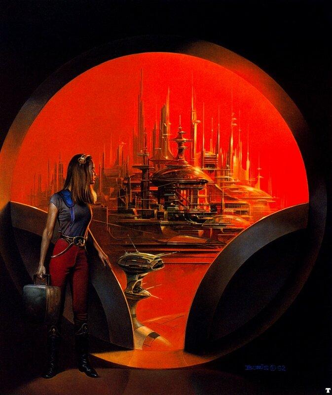 Картина, художник Борис Валенджо
