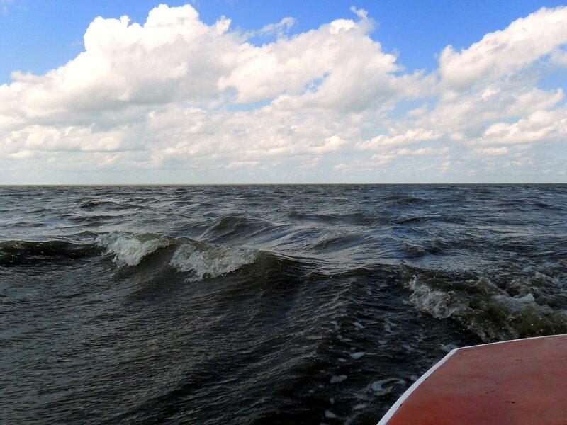 На яхте, в августе