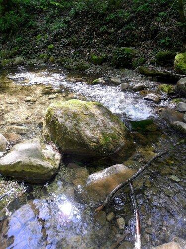 В походе, у реки Каверзе