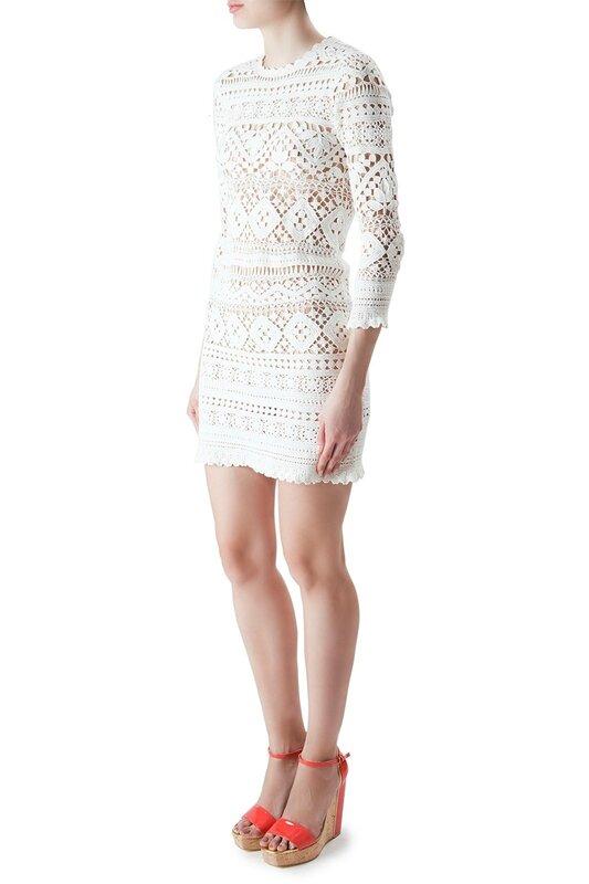 Ажурное платье крючком от Isabel Marant