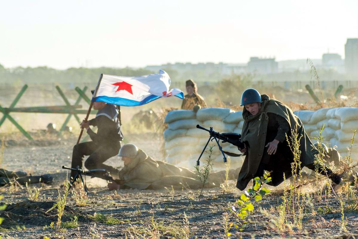 Разгром японцев на берегах Амура: Реконструкция событий времен 2-й мировой войны (19)