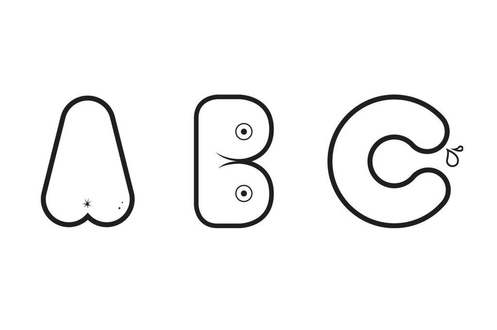 Сексуальный шрифт