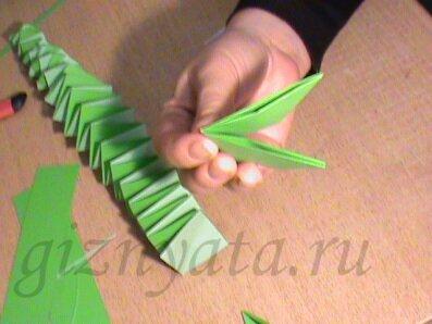 бумажная змейка