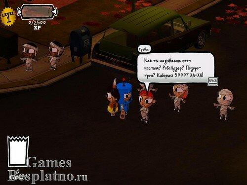 Costume Quest (рус/анг) + 1 DLC