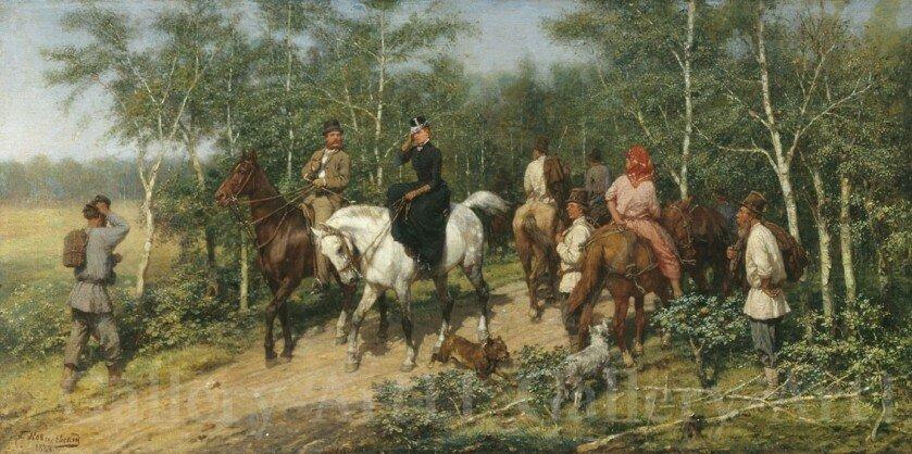 Павел Ковалевский Перед грозой. 1887 г