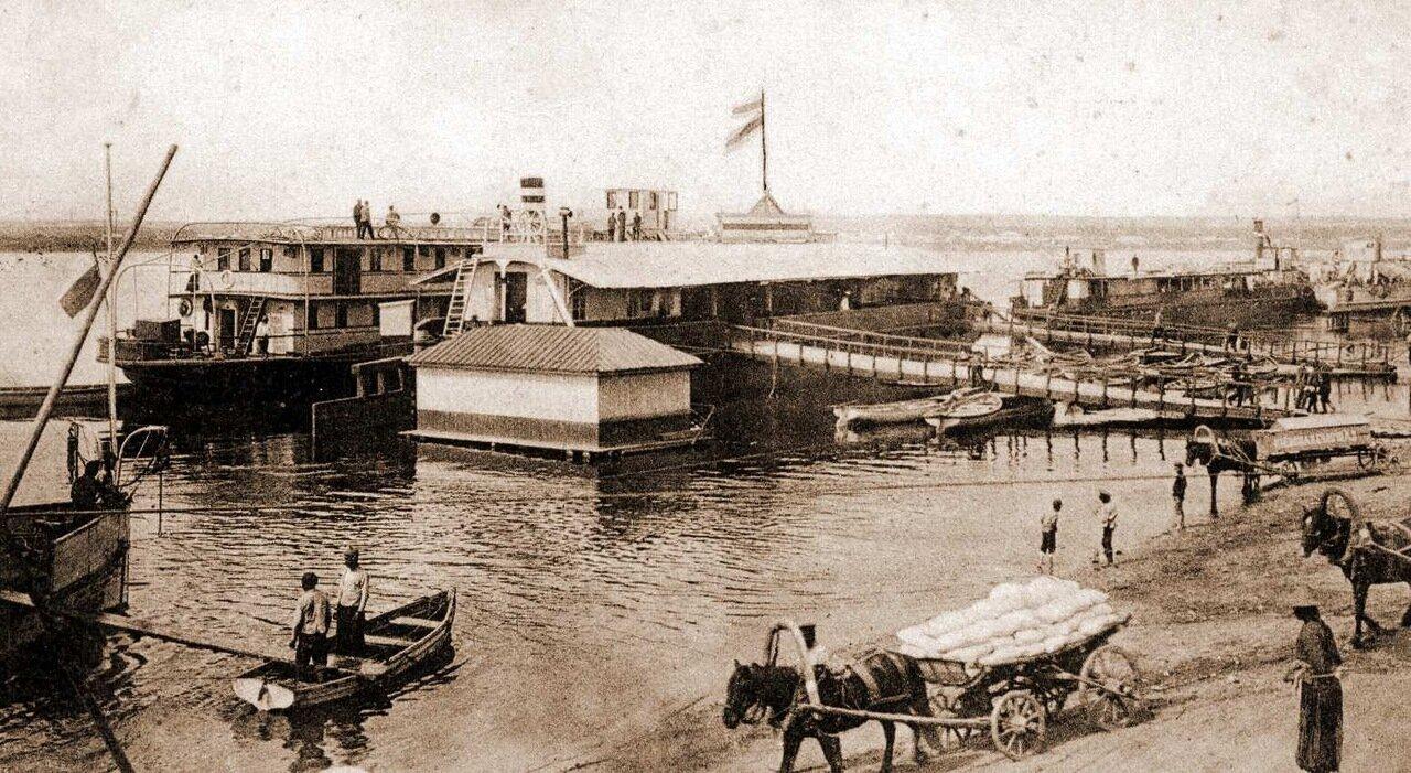 Пристань Амурского общества пароходства и торговли