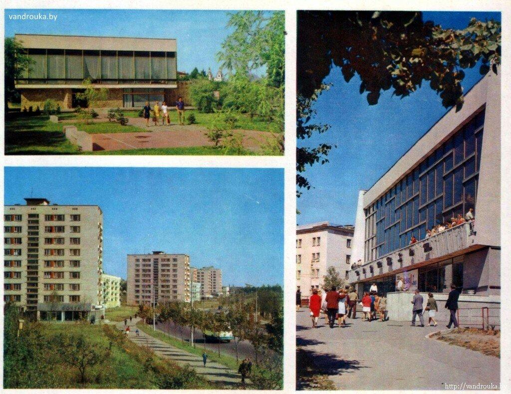 2. Слева сверху — ресторан «Журавинка», снизу — улица Ванеева, справа — кинотеатр «Партизан»