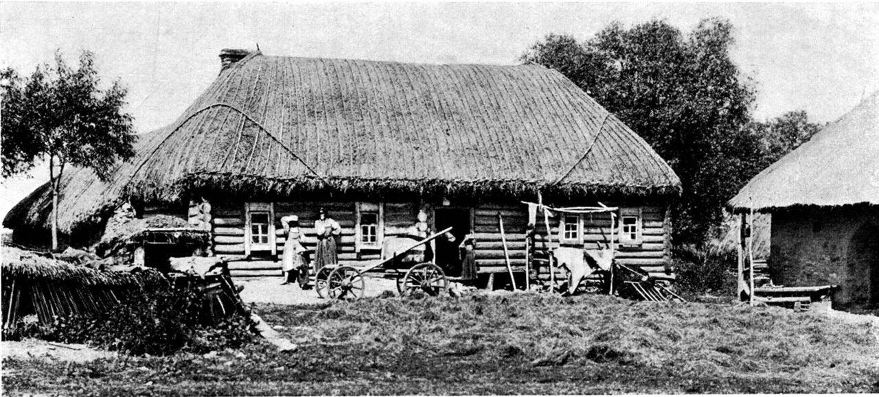 2. Изба Орловского уезда, более бедного лесом