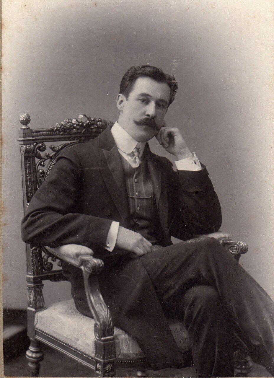 1910-е годы. Воробьев Николай Павлович