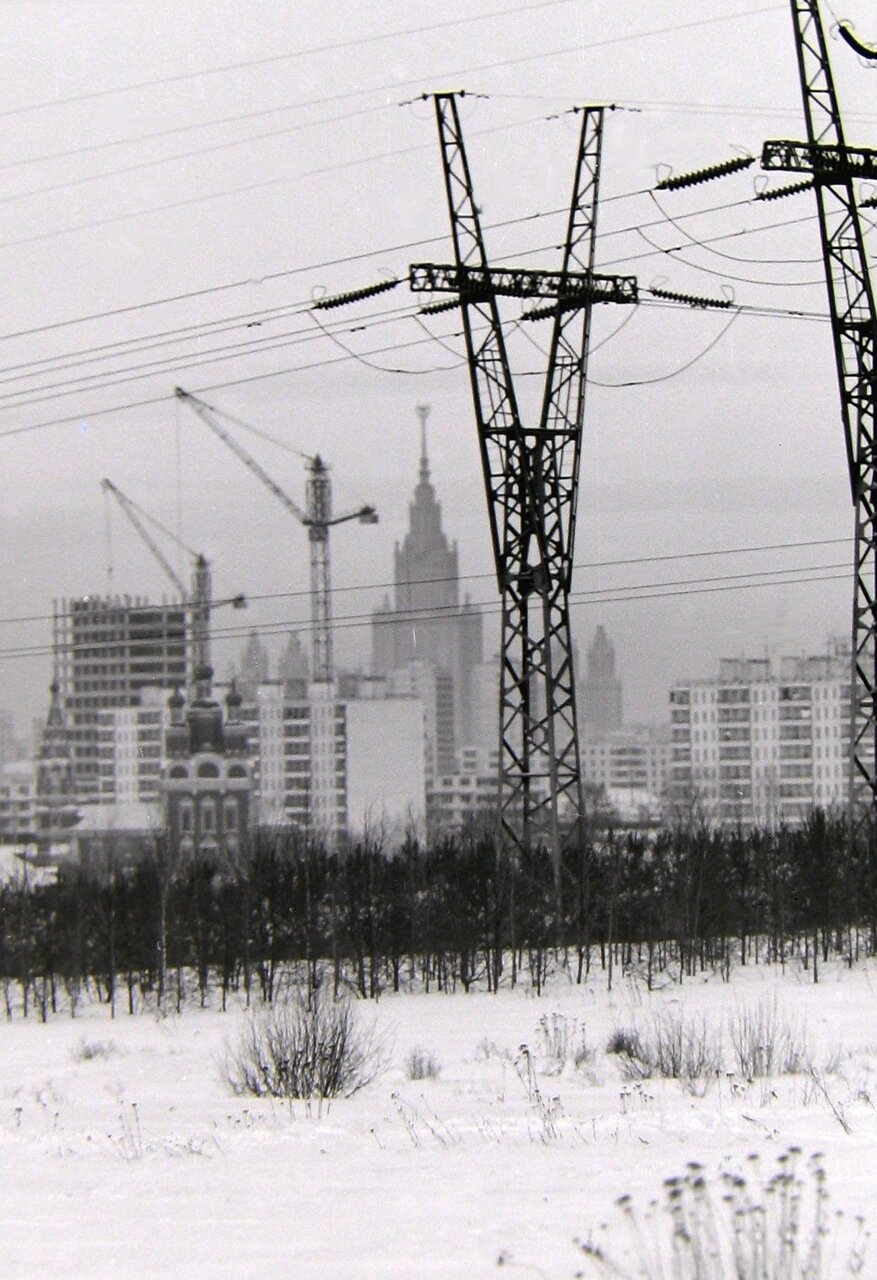 Москва, Юго-запад, примерно 1970-72 гг.