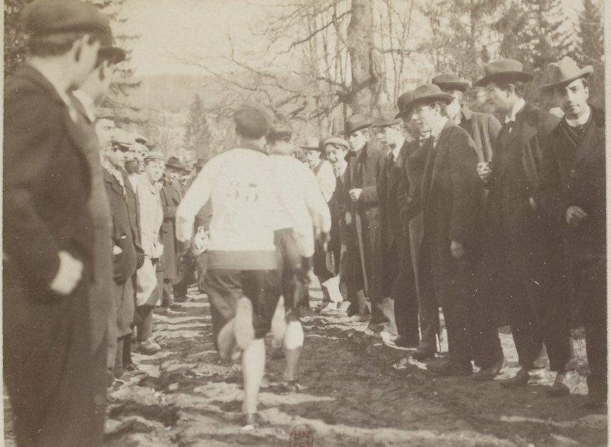 Национальный чемпионат  по бегу по пересеченной местности.Виль-д'Аврэ, 5 марта 1899 года