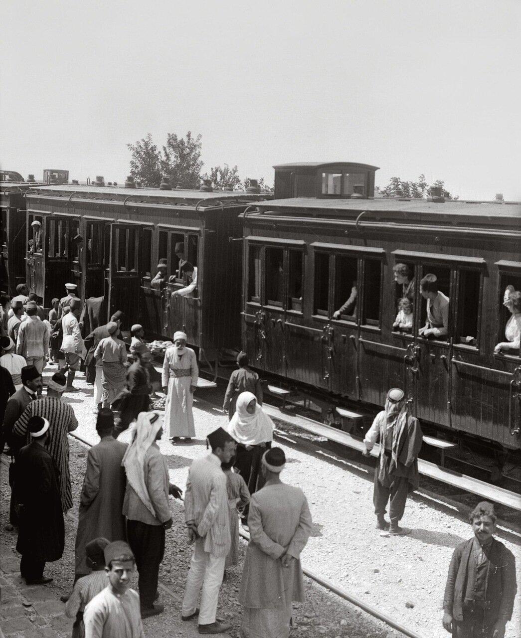 Станция Хомс хиджазской железной дороги. Хомс, Сирия. 1900-1920 гг.