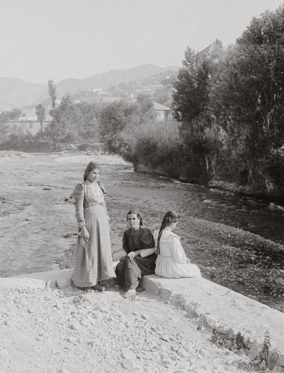 Река Бердауни. Захле, Ливан. 1900-1920 гг.