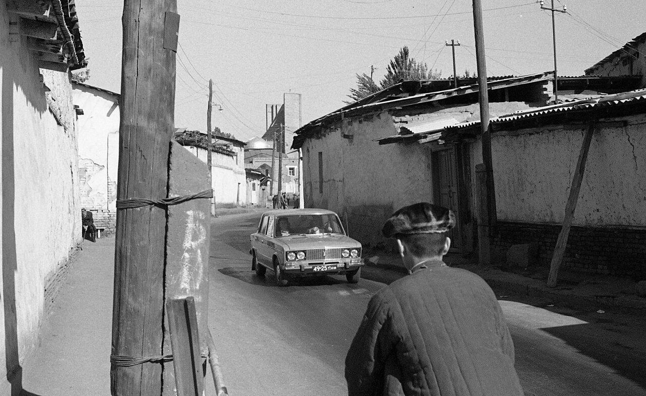 На улицах Ташкента