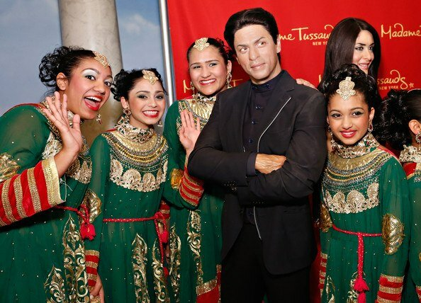 SRK wax copy - Madam Taussards, New York - 7 march 2013
