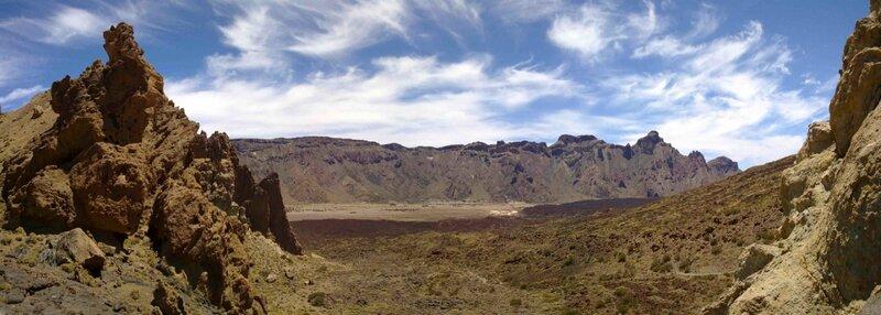 Константин Шульга, Тенерифе, горы