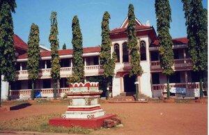Анна Печенова, Индия, штат Гоа - индуистский храм 1