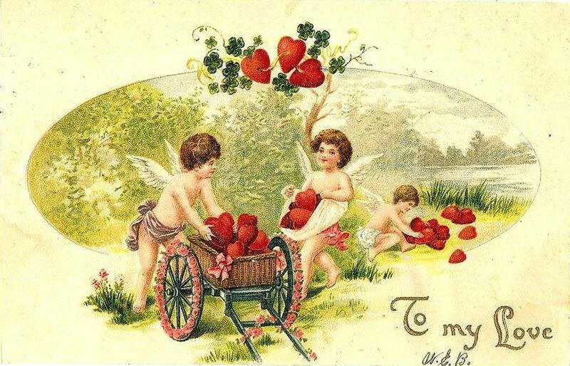 Красивая, старые открытки для любимой