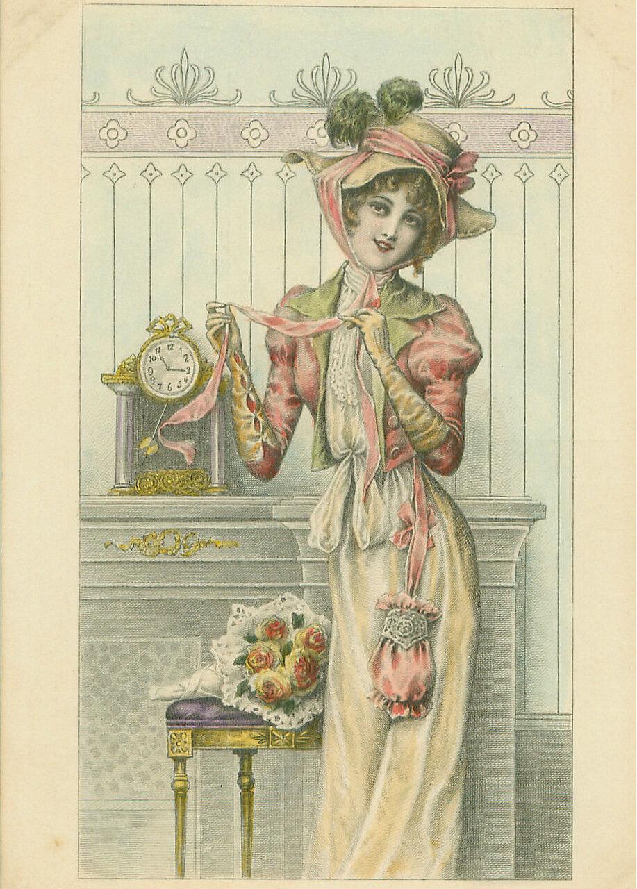 Своими, ретро открытки 19 век