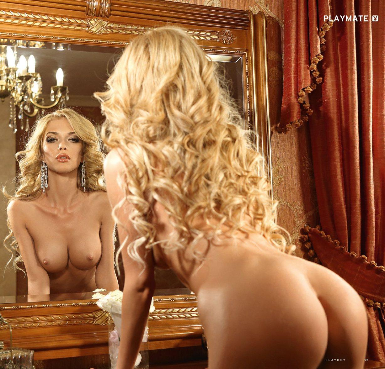 Девушка месяца Эрика Герцег в Playboy Россия, май 2013