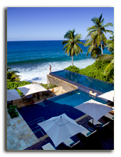 Сейшелы. О. Маэ. Banyan Tree Seychelles. Recreational Facilities. Main Pool