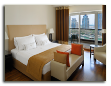 ОАЭ. Дубаи. UAE. Grosvenor House, Dubai. Apartments – Bed Room