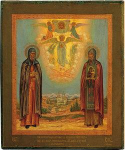 Преподобные Никодим и Алипий Печерские