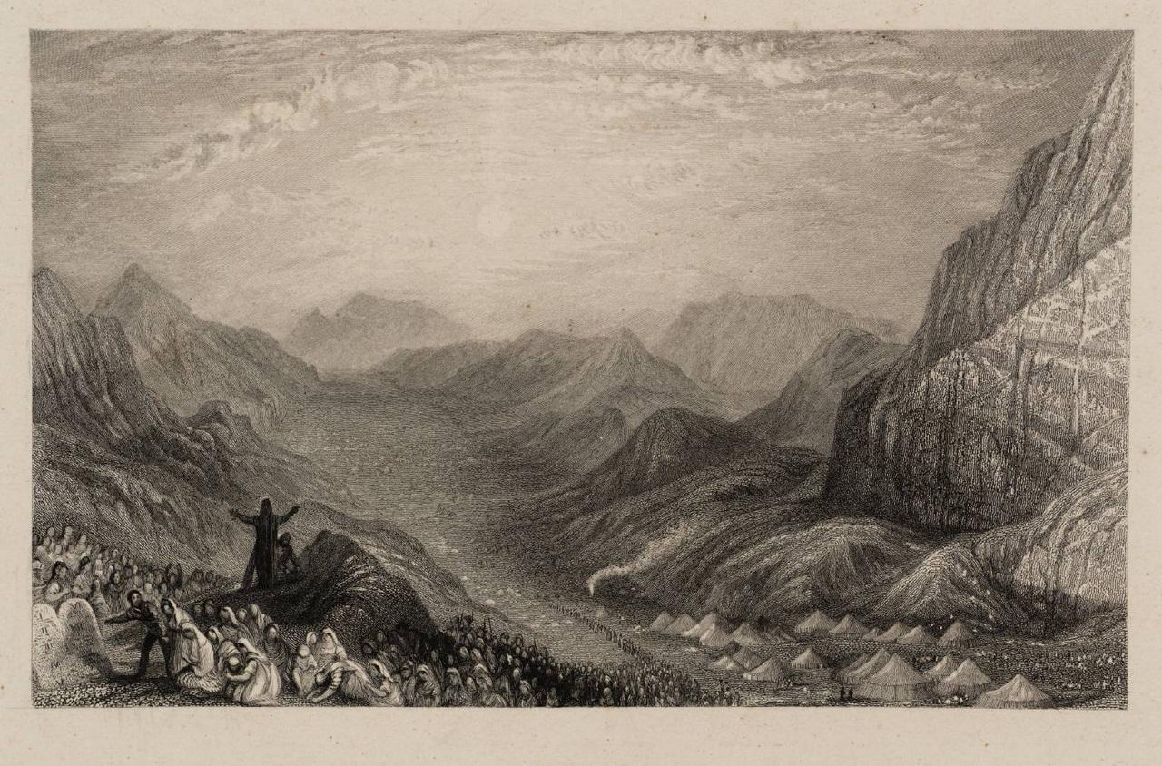 Encampment of Israelites, Mount Sinai 1836 by Joseph Mallord William Turner 1775-1851
