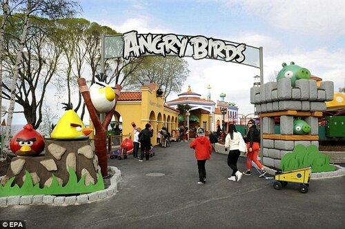Разработчики Angry Birds планируют создание парка развлечений в Калининграде