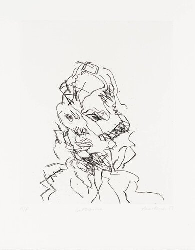 Catherine 1989 by Frank Auerbach born 1931
