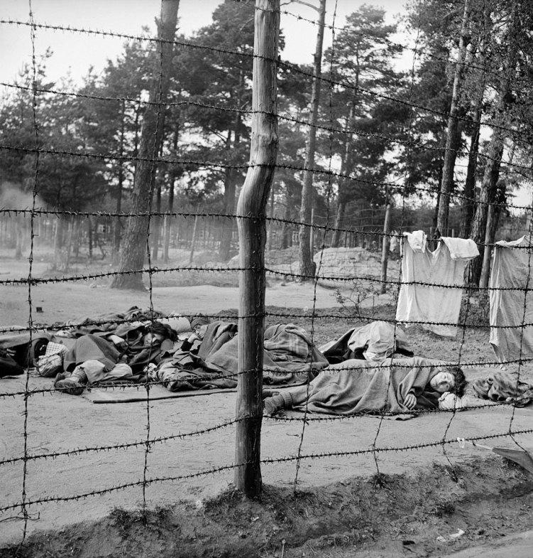 Врата ада Освобождение лагеря Берген-Бельзен